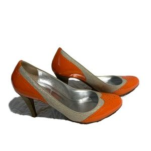 J Crew Size 9 Made in Italy Spectator Heels Pumps